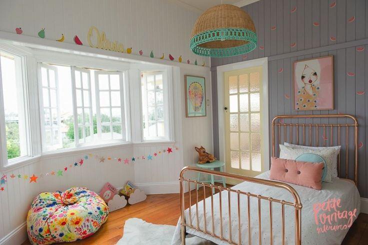 Pokoik dla córeczki w pastelowych kolorach - Lovingit.pl