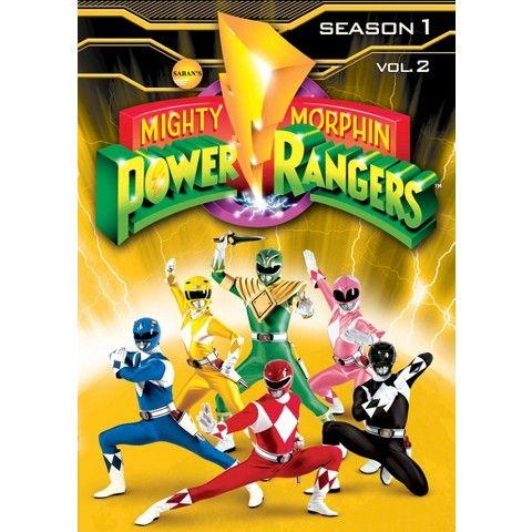 Mighty Morphin Power Rangers: Season 1, Vol. 2 (3 Discs)