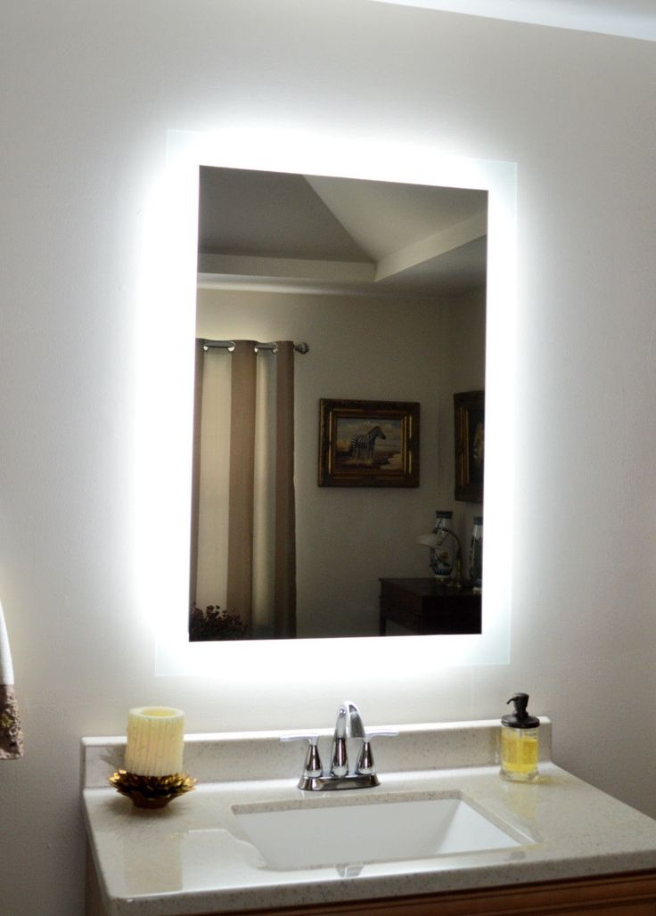 17 Best Images About Bathroom On Pinterest Lighted