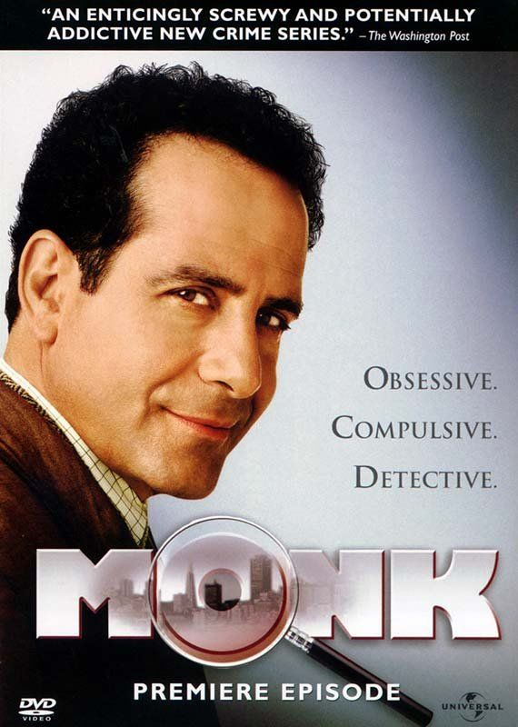 Monk [2002-2009] - - - [Seasons 1 - 8] - - - [DVD] - - - Adrian Monk is a brilliant San Francisco detective, whose obsessive compulsive disorder just happens to get in the way.