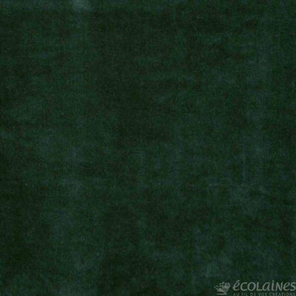 tissu jersey velours vert sapin tissus pinterest vert sapin velours et sapin. Black Bedroom Furniture Sets. Home Design Ideas