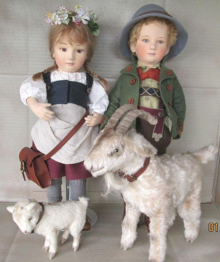 Heidi Peter by R. John Wright  for Little Switzerland dolls