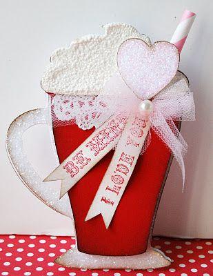 An adorable Valentine card!