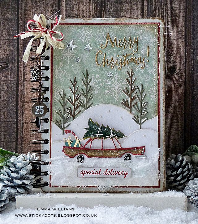 Hello everyone...     Today, is the start of the Tim Holtz Holiday Inspiration Series and throughout the month of November and beginning of...