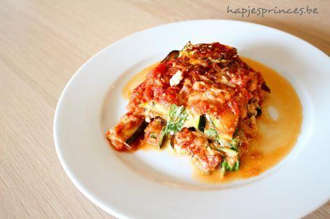lasagne met gegrilde groenten en ricotta Jeroen Meus. Lasagne zonder pasta. Pure keuken. Blog met gezonde en lekkere recepten. Gezond eten. Recept van Jeroen Meus.