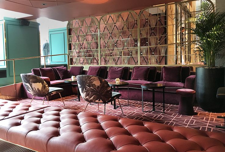 Haymarket Stockholm, luxury hotels, art deco, hotel lounge, velvet, leather.
