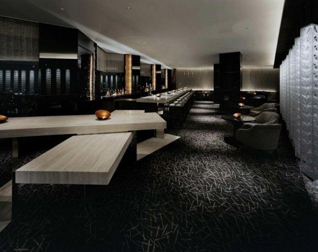 Gwenael Nicolas MIXX Bar And Lounge Interior Design At The ANA  Intercontinental Hotel, Tokyo