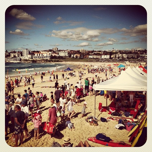 Bondi Beach Nippers Carnival Day! #atbondi #nippers #bondi #beach #sydney #australia #SurfLifesaving #event