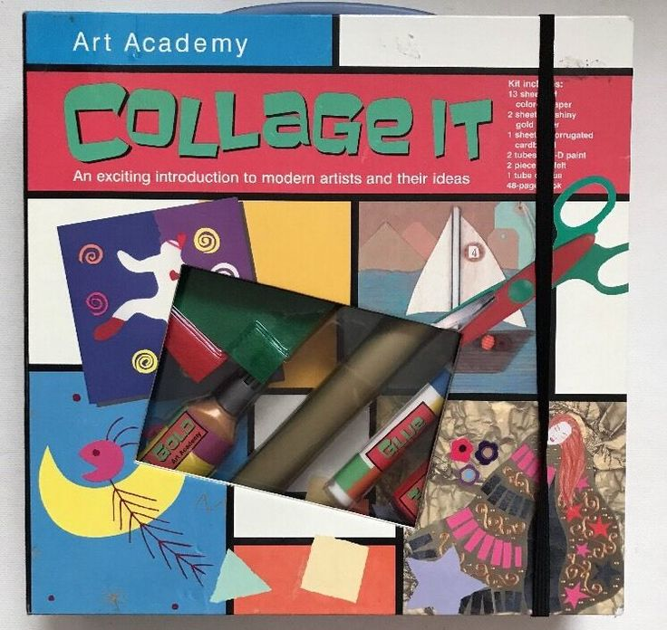 MATTHEW RAKE Art Academy Collage HARDCOVER Brand New  #collage #art #gifts