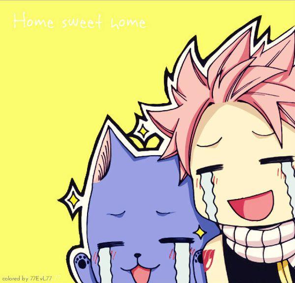 haha i luv Natsu and Happy
