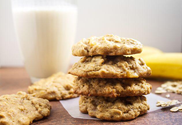 Oatmeal Peanut Butter Banana Cookie Oatmeal Peanut Butter Banana Cookies - USE GLU.tEN FREE flour and oats!!