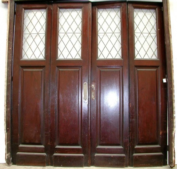 $4500 Wooden four door set Description This is a set of four bifold doors  with Tudor - 19 Best Bifod Doors Images On Pinterest Bi Fold Doors, French
