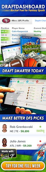 Create WINNING Fantasy Teams in Seconds! DraftDashboard is the Key!