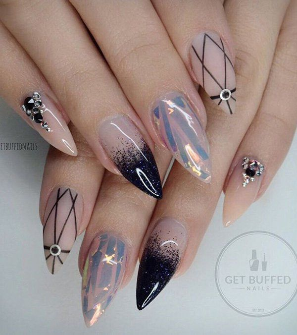 8f7903d9c0f98f2ad150f1ff9870606b gothic nails designer nails best 25 light colored nails ideas on pinterest light nails  at panicattacktreatment.co