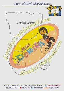 Miss Dorita: Portafoto para Niño