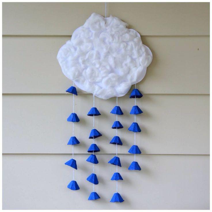Wolken mit Regen