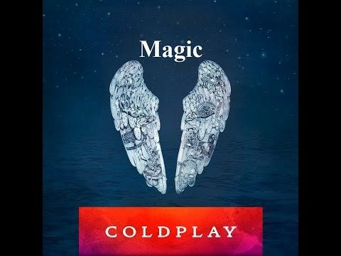 Latest song from Coldplay : Album Cover Magic