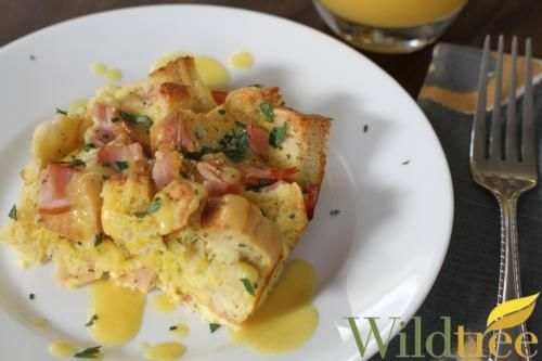Wildtree's Eggs Benedict CasseroleRecipe