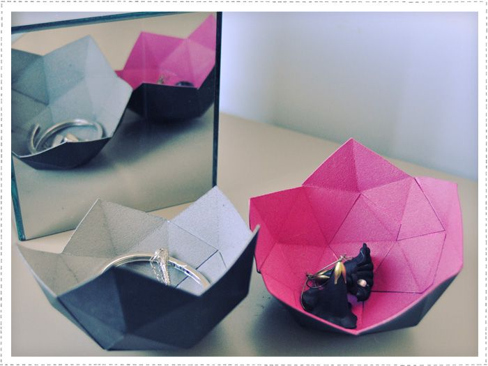 paper polyhedron inspiration