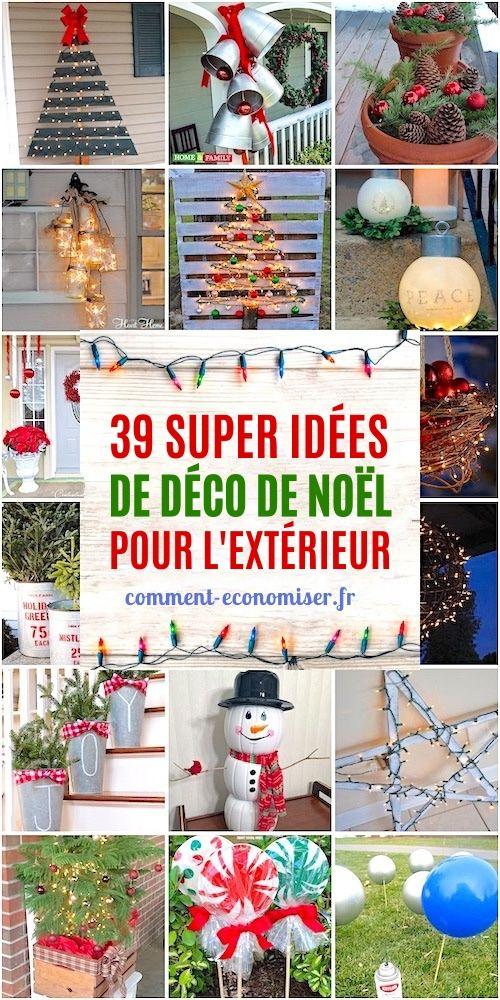 Déco De Noël 39 Super Idées Pas Chères Et Faciles Pour l