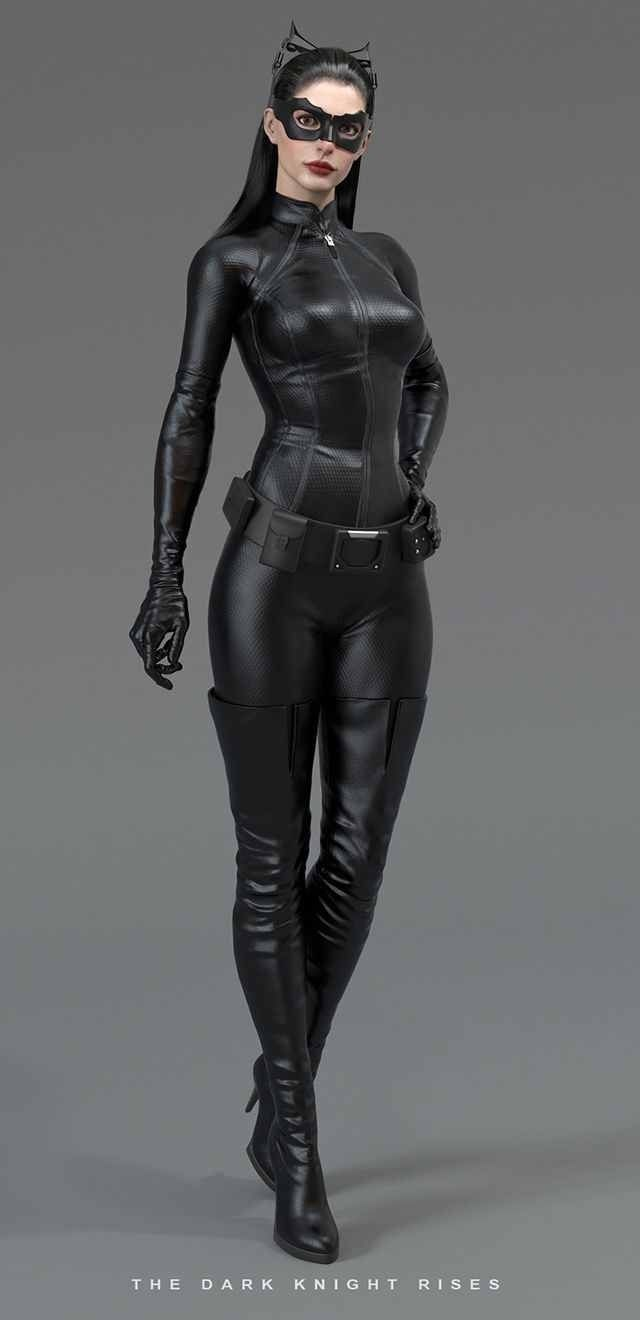 Anne Hathaway as Catwoman in The Dark Knight Rises, a burglar turned Batmans Accomplice.