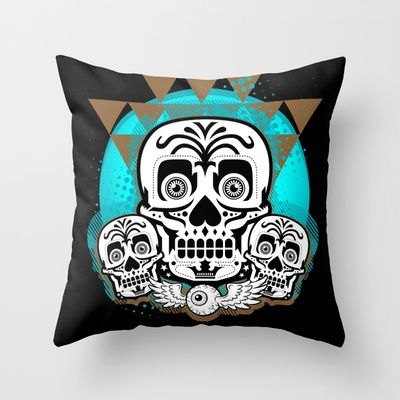 Dramatism Throw Pillow by BerkKIZILAY - $20.00