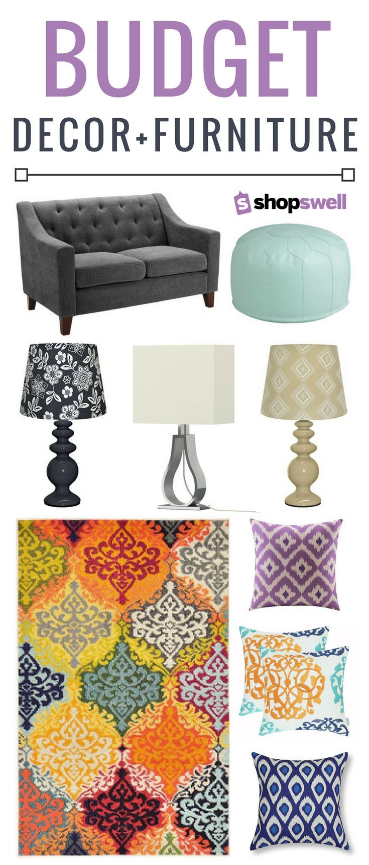 1073 best home decor furniture images on pinterest for Budget friendly furniture
