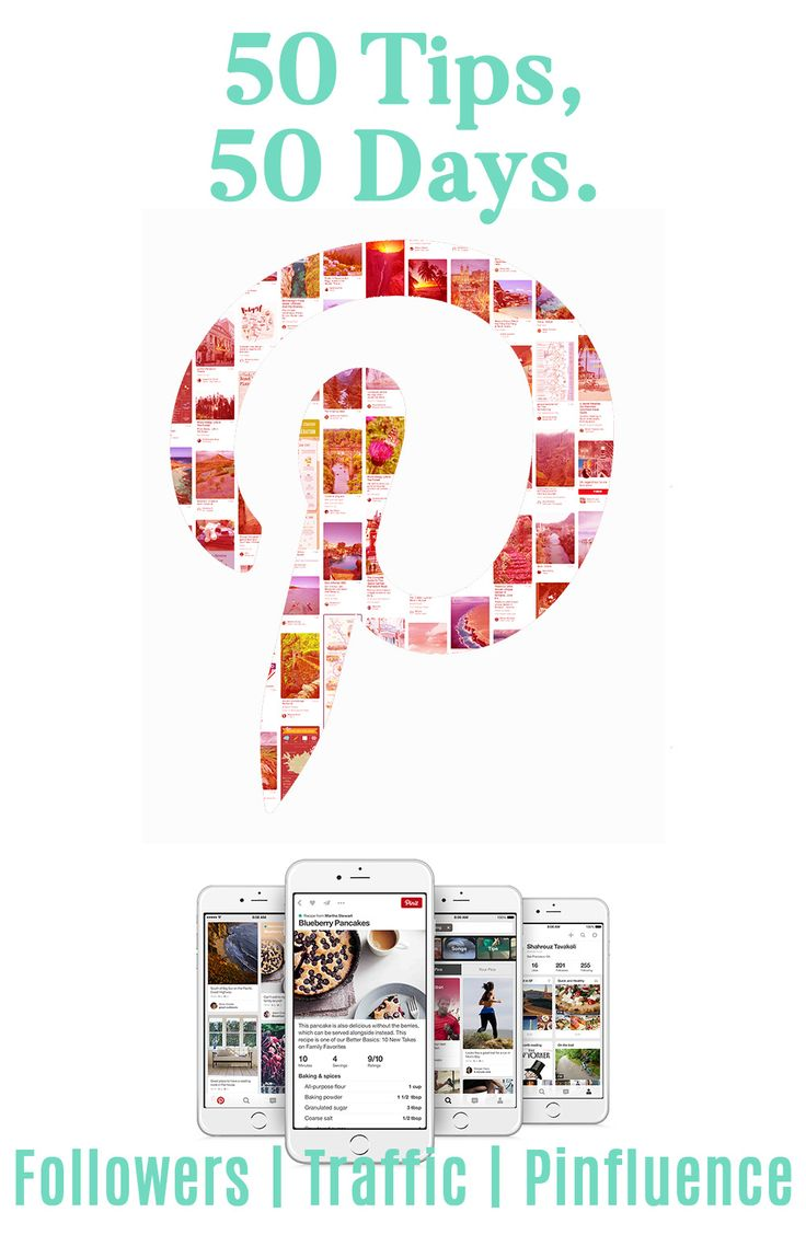 50 Pinterest tips for more followers, traffic and pinfluence. Optimise your PInterest pins, boards and profile.