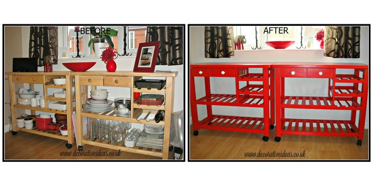 Painted in Dulux Eggshell in Red Glosss by http://www.decorativeideas.co.uk