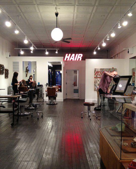 Vintage Meets Industrial Chic Design: Smith & Davis Salon in Chicago