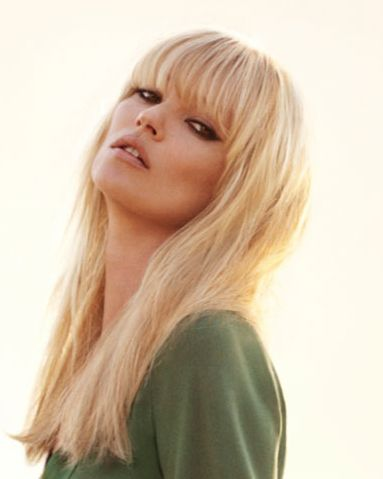 LONG BLONDE HAIR WITH FRINGE ...<3