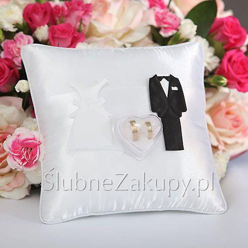 PODUSZKA na obrączki Pani i Pan  #slub #wesele #sklepslubny #dekoracje #slubnezakupy