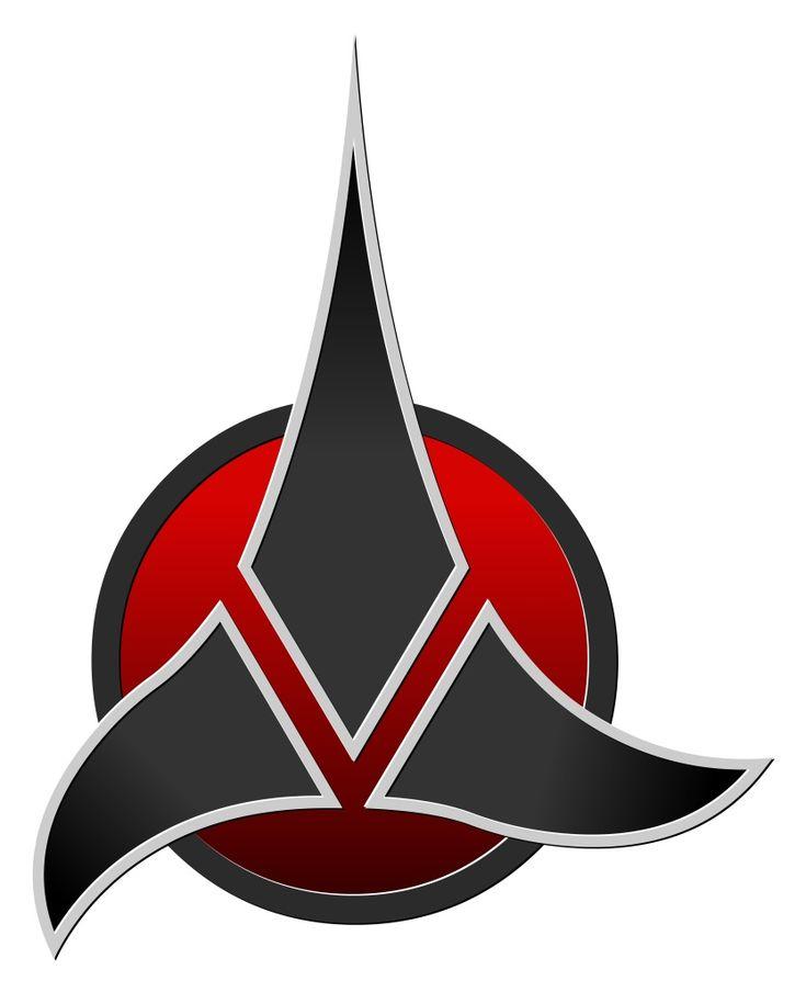 klingon symbol tattoo | Pin Klingons on Pinterest | Non ...