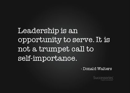 Something to keep in mind as I go through leadership training this year.  July 2013 update:  I completed the class portion of training in May.  I am implementing my timeline for projects and activities starting August 2013
