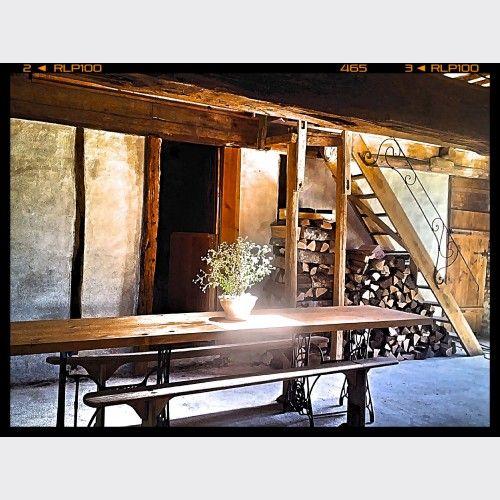 Grande table loft