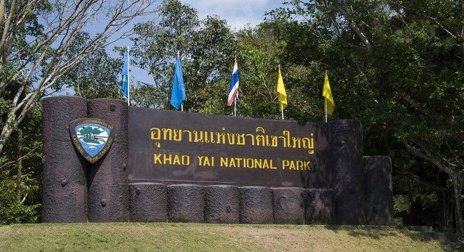 Khao Yai National Park - main tourist attraction of Thailand