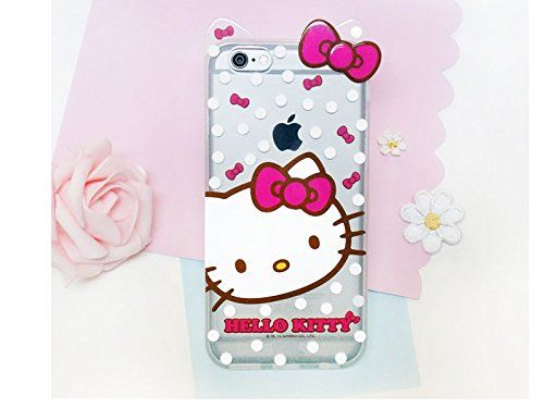 iPhone 6, Hello Kitty 3D Silicon Case for Apple iPhone 6 4.7 inches 24K Gold Electromagnetic Waves Shield Sticker -Kitty Face iPhone 6 4.7 inches. iPhone 6, Hello Kitty 3D Silicon Case for Apple iPhone 6 4.7 inches-Kitty Face iPhone 6 4.7 inches. Apple iPhone 6 4.7 inches Small Size. Apple iPhone 6S 4.7 inches. Cute Case. Hello Kitty 3D Silicon 0.5 mm Case.