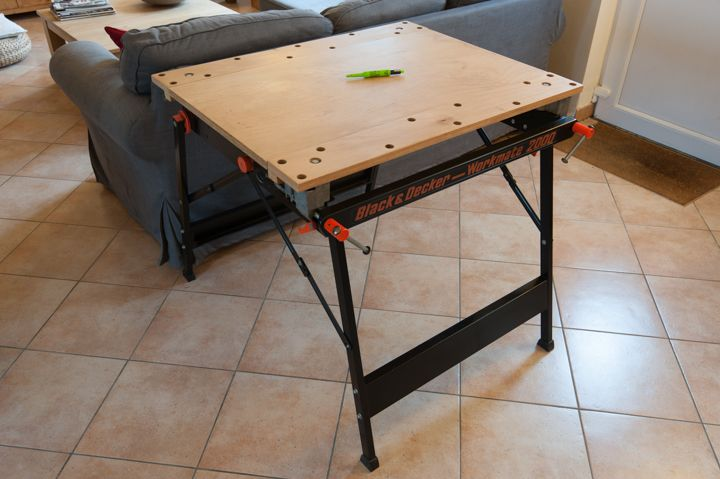 Black decker workmate 2000 outils pinterest black for Outils black et decker