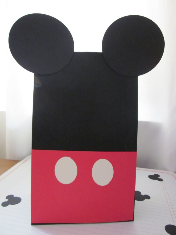 Favor bagsFavor Bags, Treats Bags, Goodies Bags, Treat Bags, Mickey Mouse Parties, Goody Bags, Favors Bags, Parties Ideas, Birthday Ideas