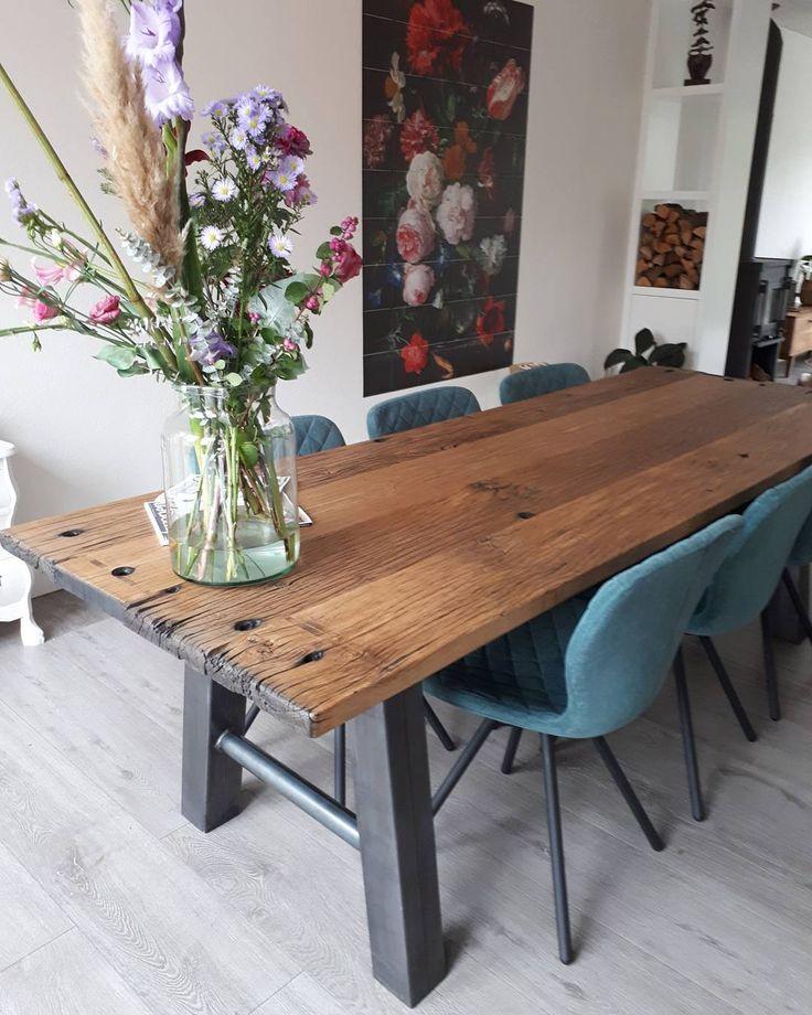 25 beste idee n over eetkamer meubelen op pinterest eettafels eetkamers en eetkamertafel - Deco van woonkamer eetkamer ...