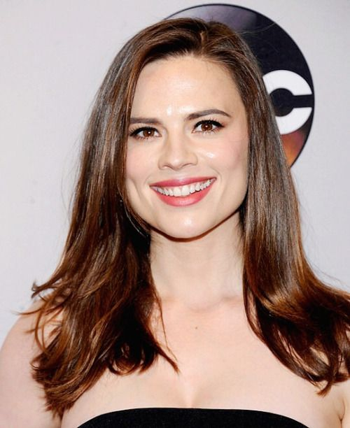 """Hayley Atwell attends the 2016 ABC Upfronts held at the David Geffen Hall in New York City."""
