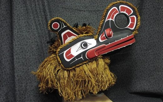 Traditional and contemporary Northwest coast artwork at I-Hos Gallery. #FirstNations artists produced masks, prints, gold and silver jewelry, wood carvings and more. #AboriginalBC http://www.aboriginalbc.com/members/i-hos-gallery/