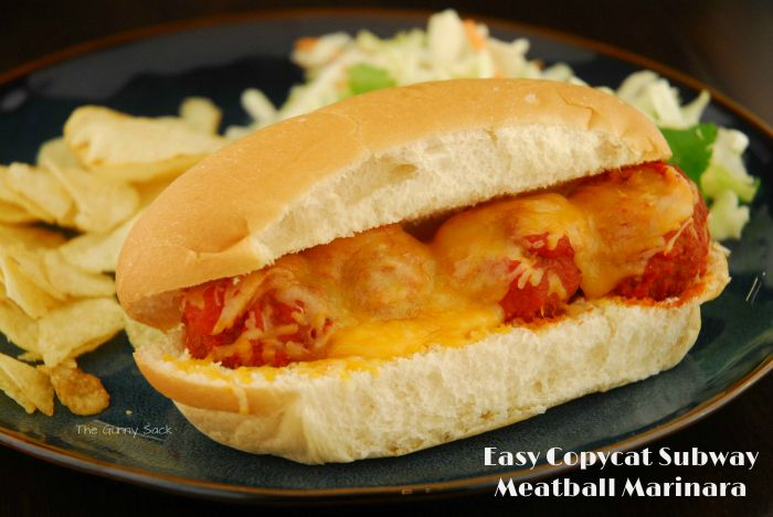 Need a quick, easy dinner? How about a meatball sub? Instead of buying Subway, try making this Easy Copycat Subway Meatball Marinara sub. This meatball sub recipe uses premade, frozen meatballs so all you have to do is warm them up! How is your week going? Unfortunately, the flu is making its way through my …