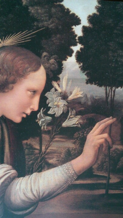 Leonardo da Vinci- I wonder what the person in this was looking at..