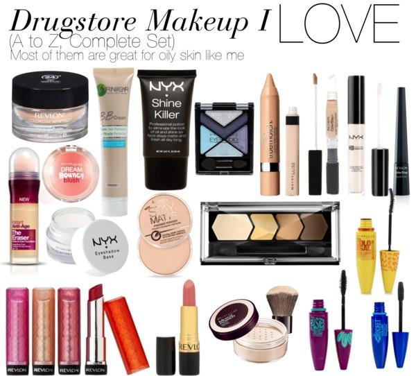 Drugstore Makeup dupes Polyvore
