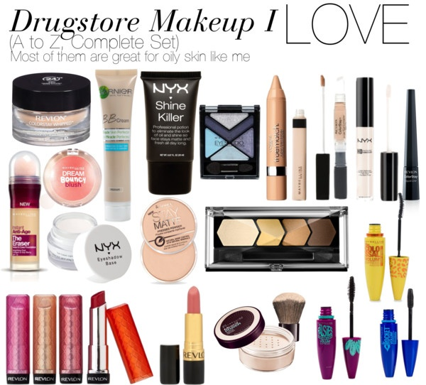 Drugstore makeup for oily skin gonna try some of these products out!