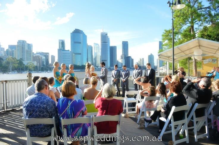 Brisbane Riverlife, Kangaroo Point Wedding Ceremony