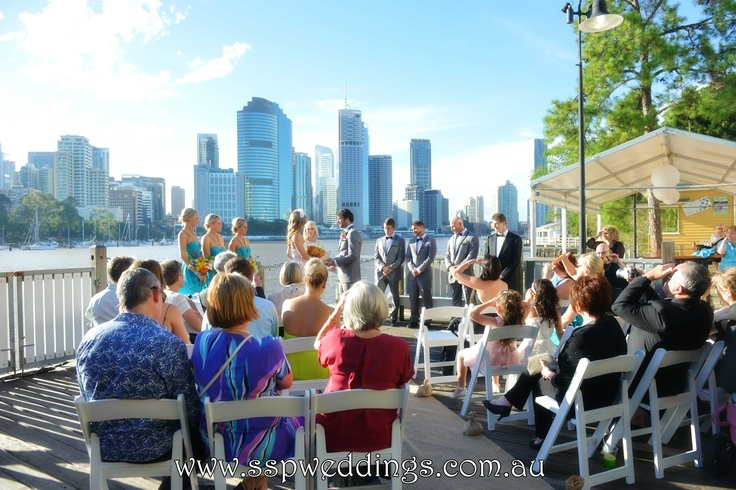 Brisbane Riverlife, Kangaroo Point Wedding Ceremony Location & Venue