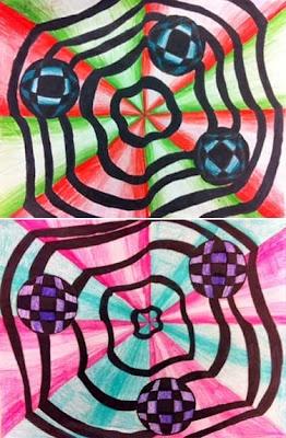 artisan des arts: Optical Illusions - grade 5/6