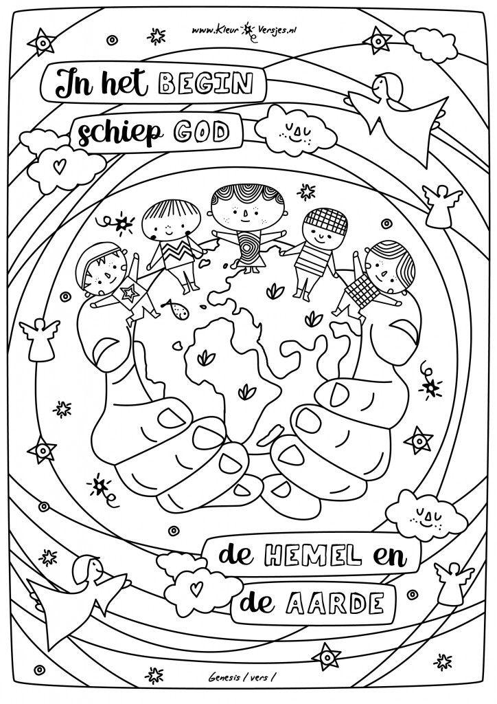 Kleurplaten Liefde Van God.054 Coloring Doodle Lettering God En Religion